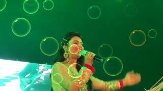 chirodini tumi je amar song female | Sarrika Singh live | dibyendu bhowmick