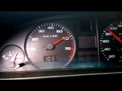 Audi 100 C3 2.0 разгон 0-100