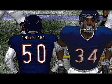 WALTER PAYTON IS A BEAST ESPN NFL 2k5 - 85 BEARS VS RAVENS