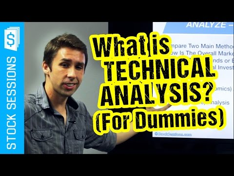 What is Stock Market Technical Analysis? (for Dummies) [Stock Market 101 Course #02-03]