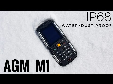 AGM M1 Rugged Phone IP68 REVIEW – Is a $35 phone any good?