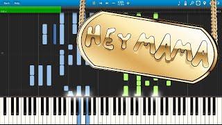 David guetta - hey mama ft nicki minaj, bebe rexha & afrojack - piano cover / tutorial