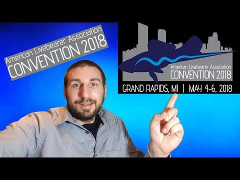 American Livebearer Association Convention in May 2018 Grand Rapids, MI