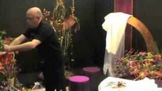 Neil whittaker - Table and Bridal Design - Interflora Worldcup Shanghai 2010