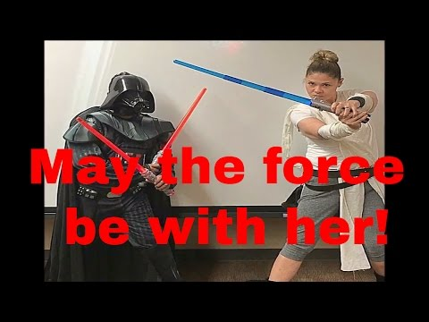 Star Wars: Darth Vader vs Rey! Who will win?