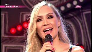 Jelena Gavrilović peva na ruskom (Ami G Show S12)
