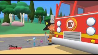 Handy Manny | Fire Fighter Manny | Disney Junior UK