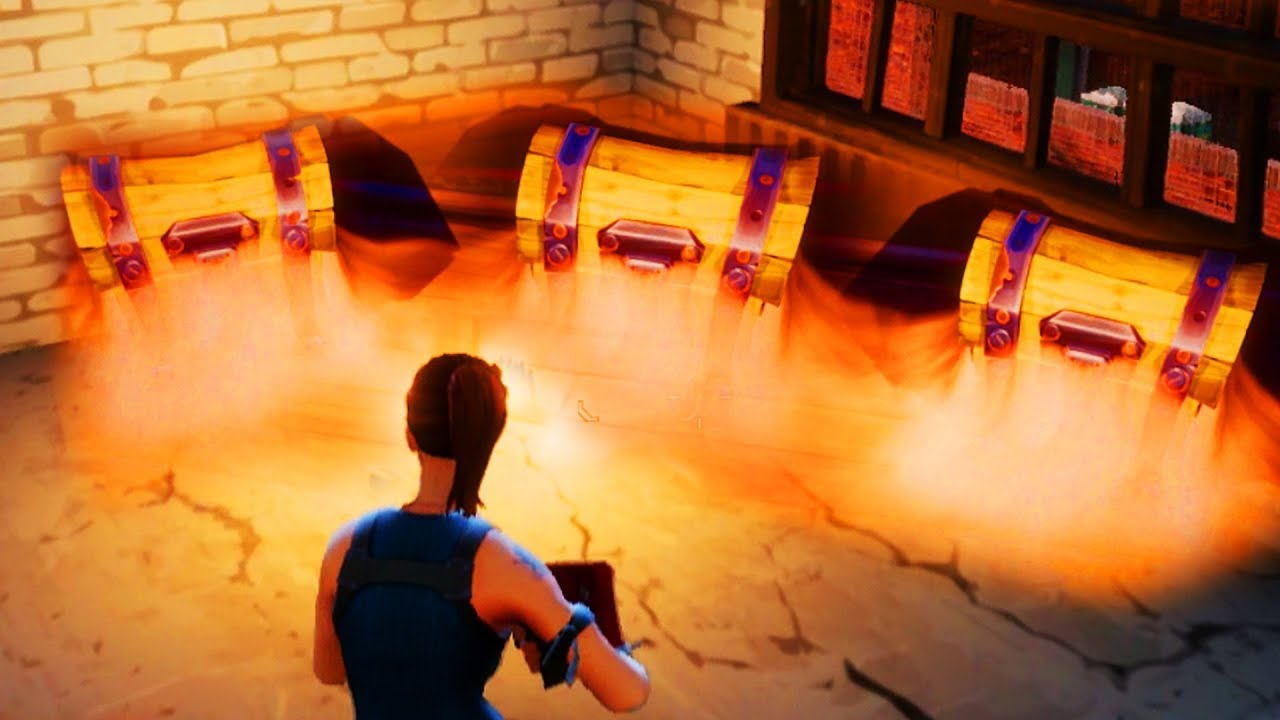New Loot Chest Spawns Fortnite Battle Royale Youtube