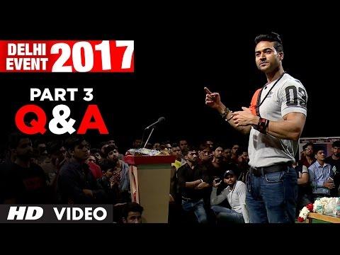 Q&A With Guru Mann - Delhi Event 2017 PART-3   Meet And Greet