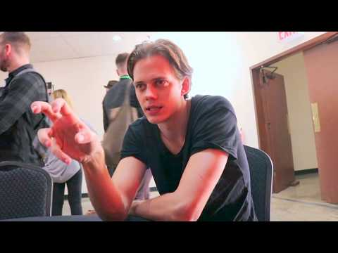 Bill Skarsgard discusses Hulu's Castle Rock at NYCC '17