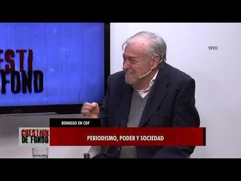El periodista Miguel Bonasso, en Cuestión de Fondo
