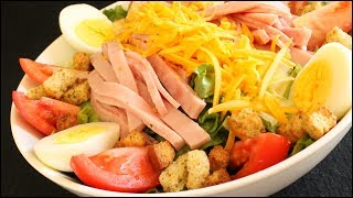 How To Make The Classic Chef Salad