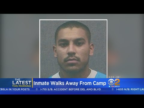 Inmate Walks Away From Ventura County Conservation Camp