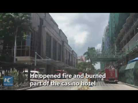 Aftermath of Philippine casino hotel fire