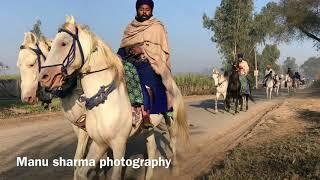 Nihang Singhs of Baba Bidhi Chand Dal Going to Maghi Mela to Sh Muktsar Sahib