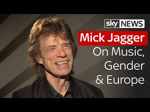 Mick Jagger On Music, Gender & Europe