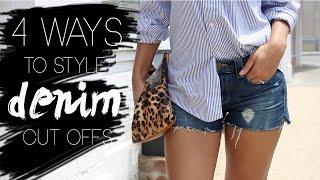 4 Ways to Style Denim Cut Offs