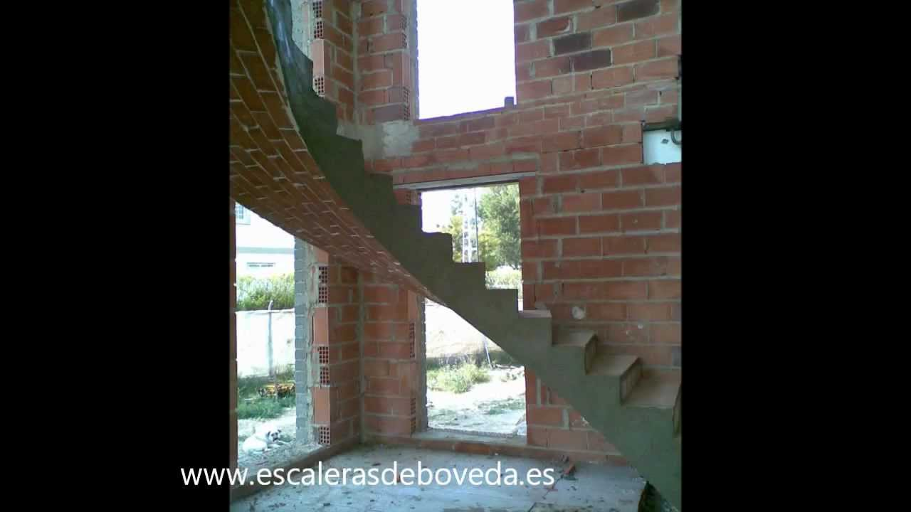 escalera de boveda catalana - YouTube