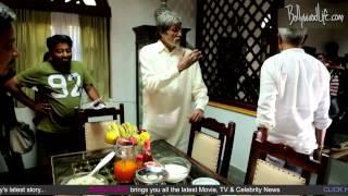 Amitabh Bachchan plays prank on Prakash Jha