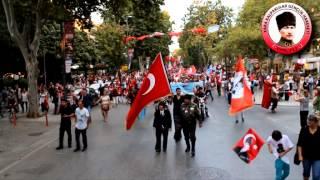 Kara Kalpaklılar 30 Ağustos Zafer Bayramı Yürüyüşü