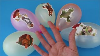 История Игрушек Пальчики с Шариками | Детская Песенка для Малышей
