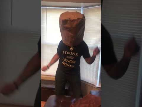 MY NFL TEAM SUCKS PAPER BAG CHALLENGE