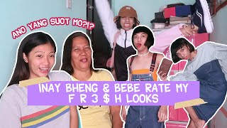 MY MOTHER & SISTER RATE MY PANGMALAKASAN NA #OOTD! + STYLING TIPS