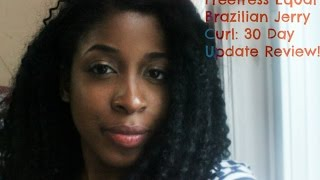 Freetress Equal Brazilian Jerry Curl: 30 Day Update Review (Final)