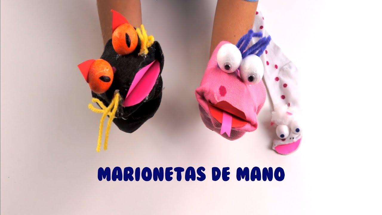 Marionetas de mano c mo hacer marionetas manualidades - Como hacer marionetas de mano ...