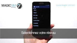Samsung Galaxy NOTE 3 (SM-N9005)- Adaptateur Dual SIM - MAGICSIM ELITE - GALAXY NOTE 3 (NO CUT)