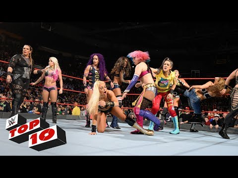Top 10 Raw moments: WWE Top 10, December 18, 2017