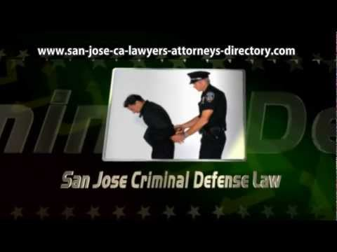 San Jose criminal defense lawyers