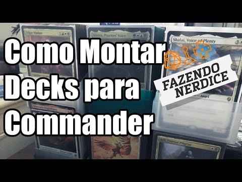 Como Montar Um Deck De Commander