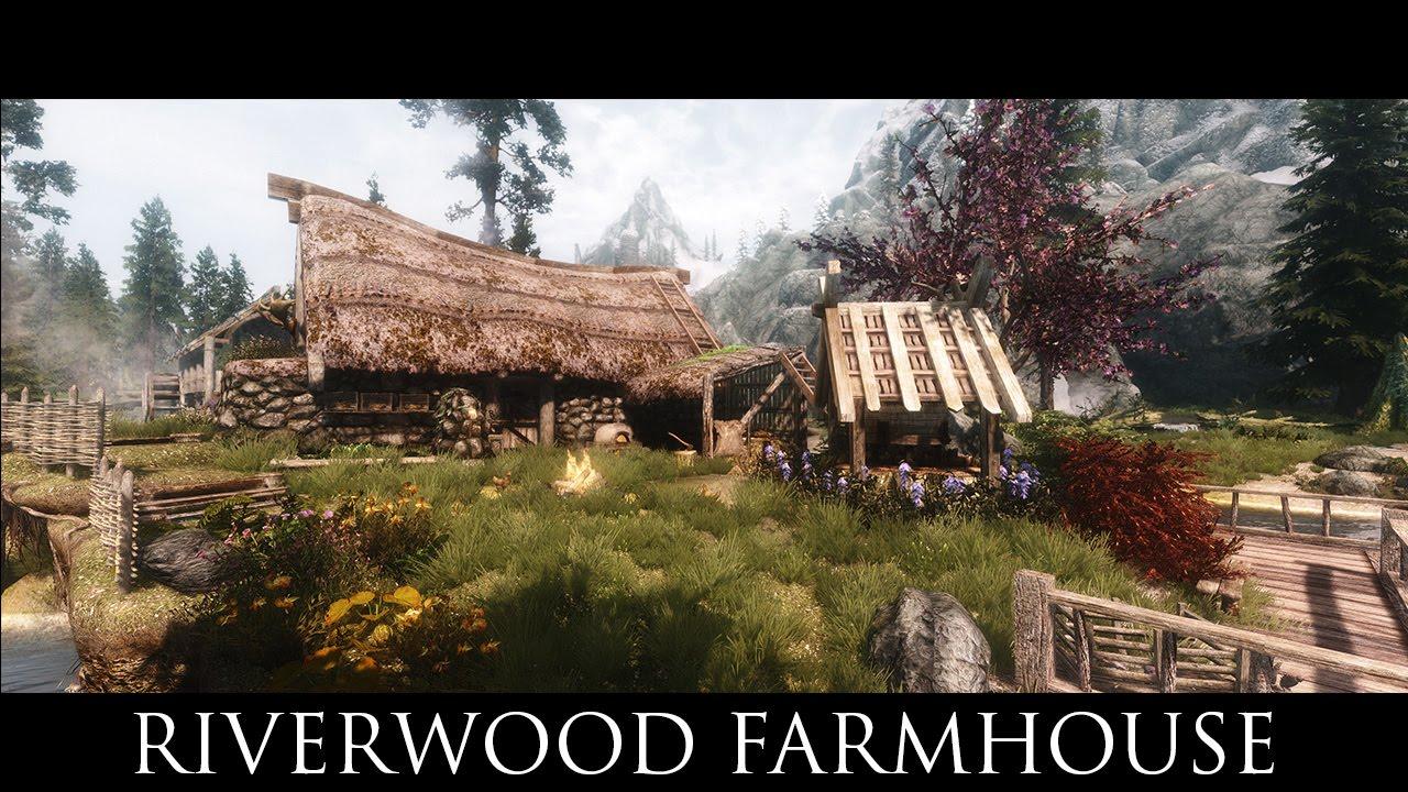 Tes V Skyrim Mods Riverwood Farmhouse Wip Youtube