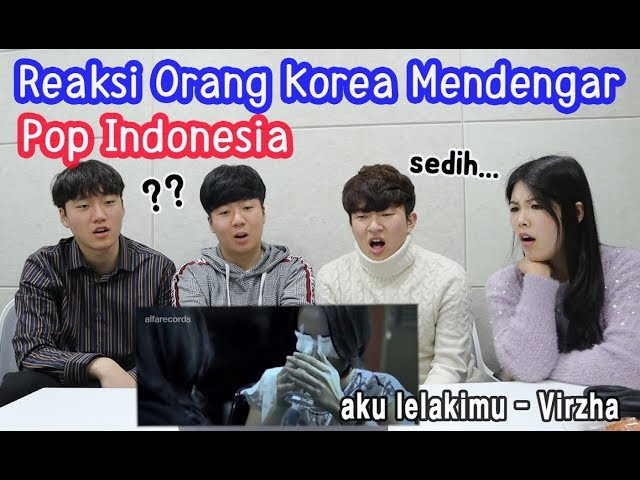 [Korean Reaction] POP INDONESIA Raisa - Isyana - Marion Jola - Virzha - Sule