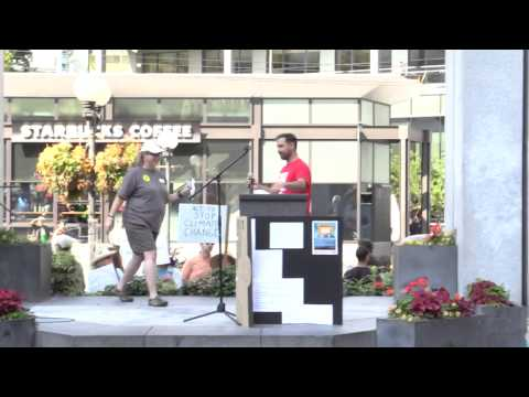 Seattle Peoples Climate March-More talks! Sep21, 2014
