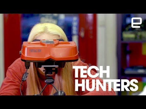 Entering new worlds with Virtual Boy | Tech Hunters