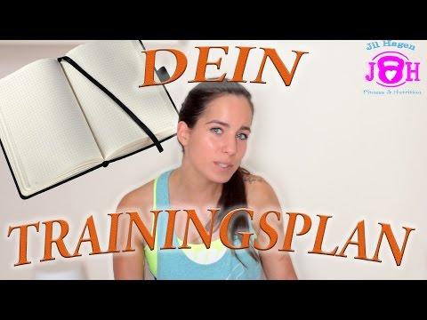 Trainingsplan   Trainingsplan selber erstellen   Ziele erreichen Muskelaufbau Abnehmen