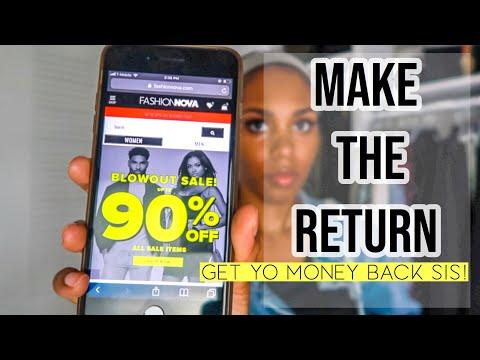 Fashion Nova Return Guide | How To Return Fashion Nova Purchases