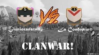 [CLANWAR] Junioranstalt vs. La Confrerie - Clash of Clans | little mc t