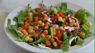 Warm Vegetable Salad - Episode 63 - Reveena's Kitchen