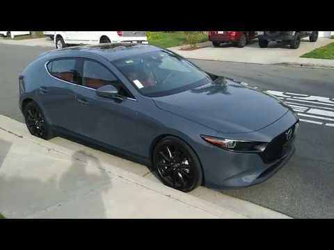 2019 Mazda3 Manual Polymetal Grey Red Interior Owner S Review Youtube