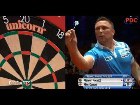 Gerwyn Price 9 Darter at the Czech Darts Open!