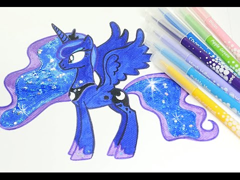 Thumbnail: My little pony coloring pages MLP pony coloring book for kids