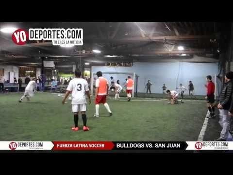 Bulldogs vs San Juan Fuerza Latina Soccer League