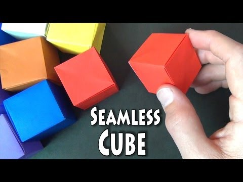Origami Seamless Cube