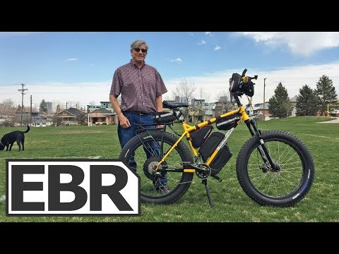 Tricked Out Fat Tire Ebike with Loads of Accessories