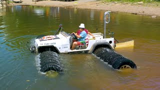 This Jeep Can SWIM! Best of