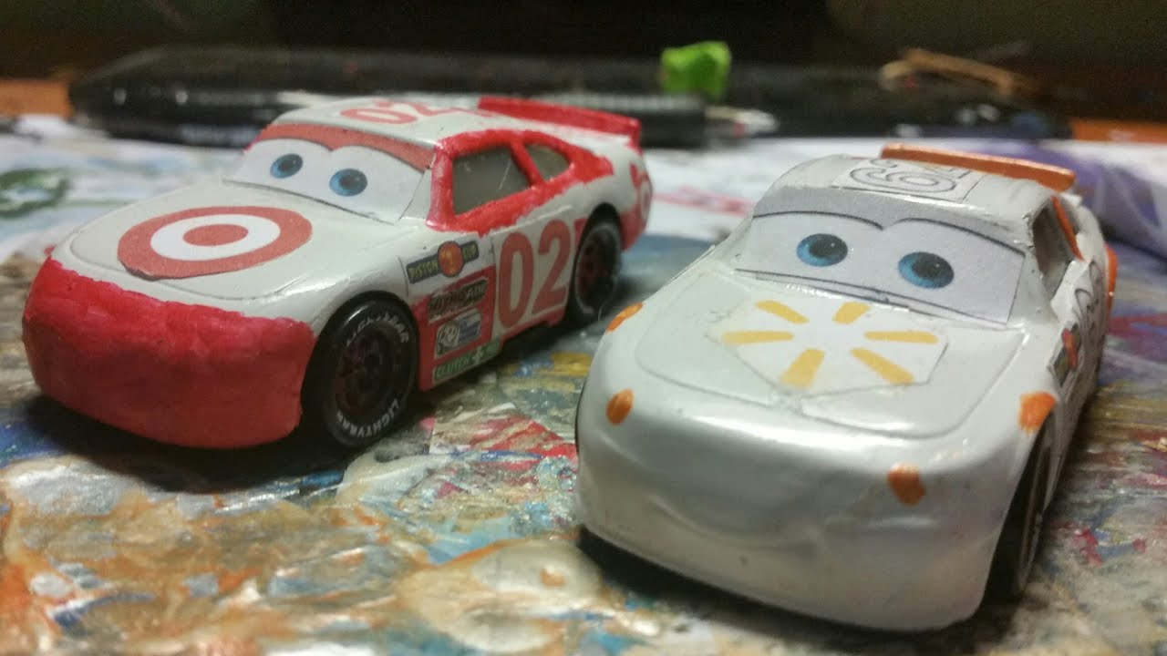 Disney Pixar Cars 3 Walmart And Target Stock Car Custom Review Youtube