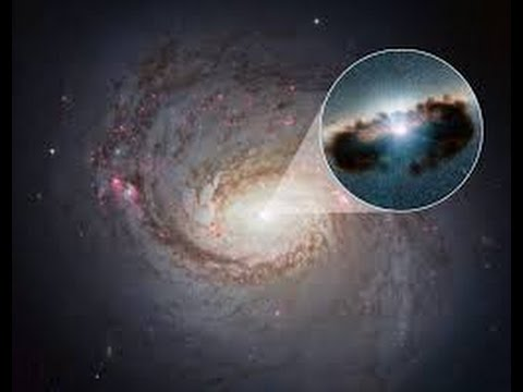 NRAO spots 'naked' black hole created by close galactic encounter